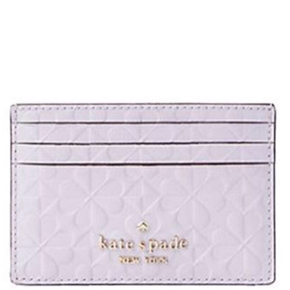 Kate Spade Hollie Spade Clover Slim Card Holder